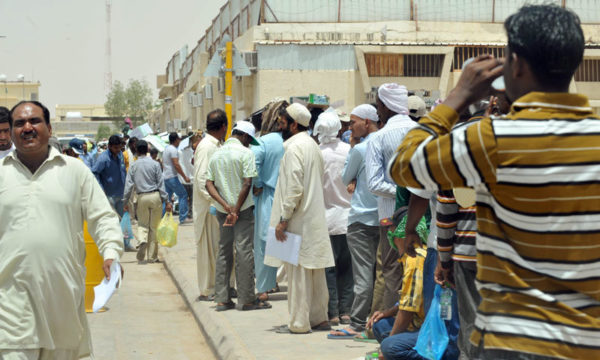 Over 100,000 Pakistanis are stranded in the Gulf