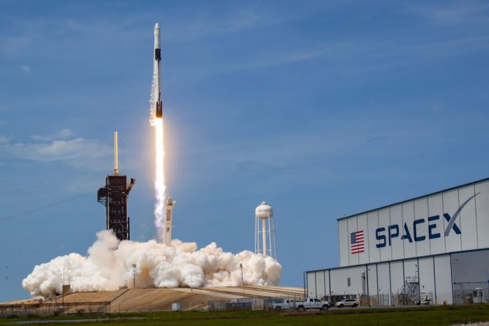 SpaceX first flight to International Space Station