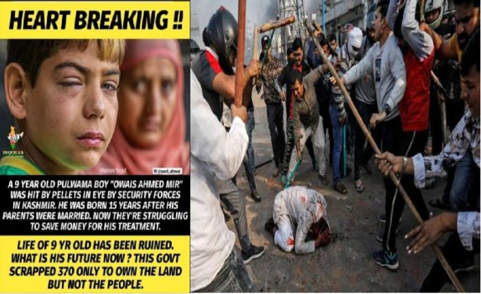 Innocent Muslim killing continues in India Look at the coward mob, just to kill one Muslim