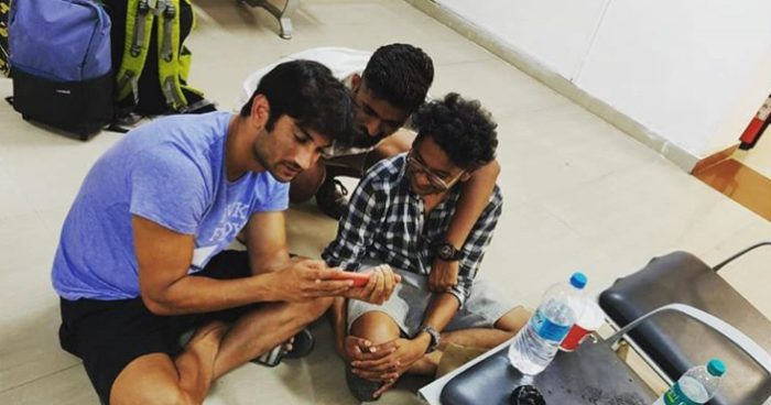 Sushant Singh Rajput's creative manager shares a pic with the actor