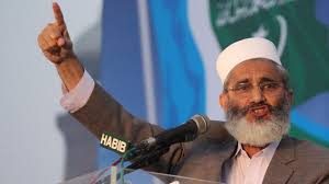Ameer Jamaat-e-Islami Pakistan Senator Siraj-ul-Haq has said that the government should not hide behind the containers, solve the problems of the people.